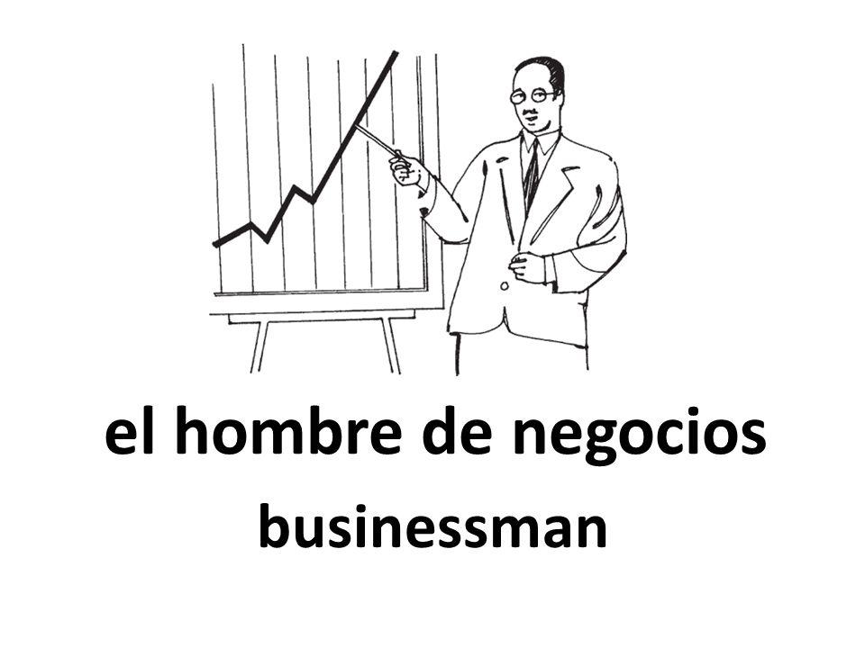 el hombre de negocios businessman