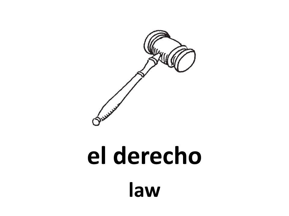 el derecho law 70