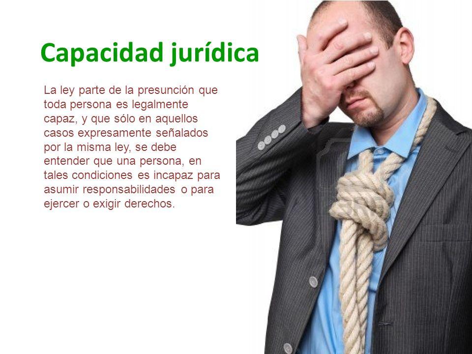 Capacidad jurídica