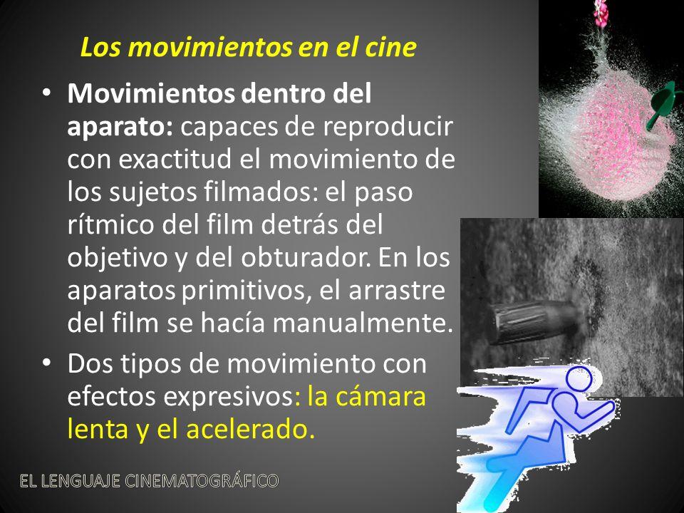 Los movimientos en el cine