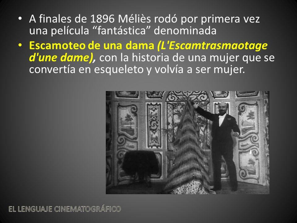A finales de 1896 Méliès rodó por primera vez una película fantástica denominada