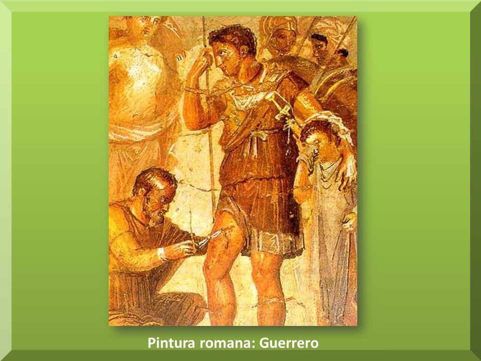 Pintura romana: Guerrero
