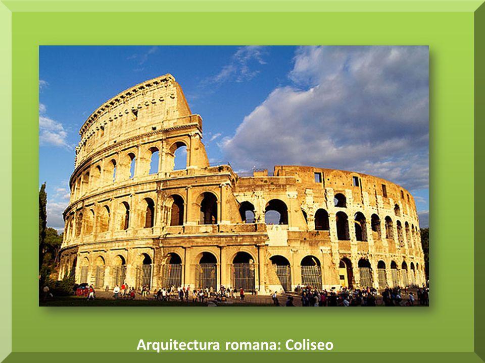 Arquitectura romana: Coliseo