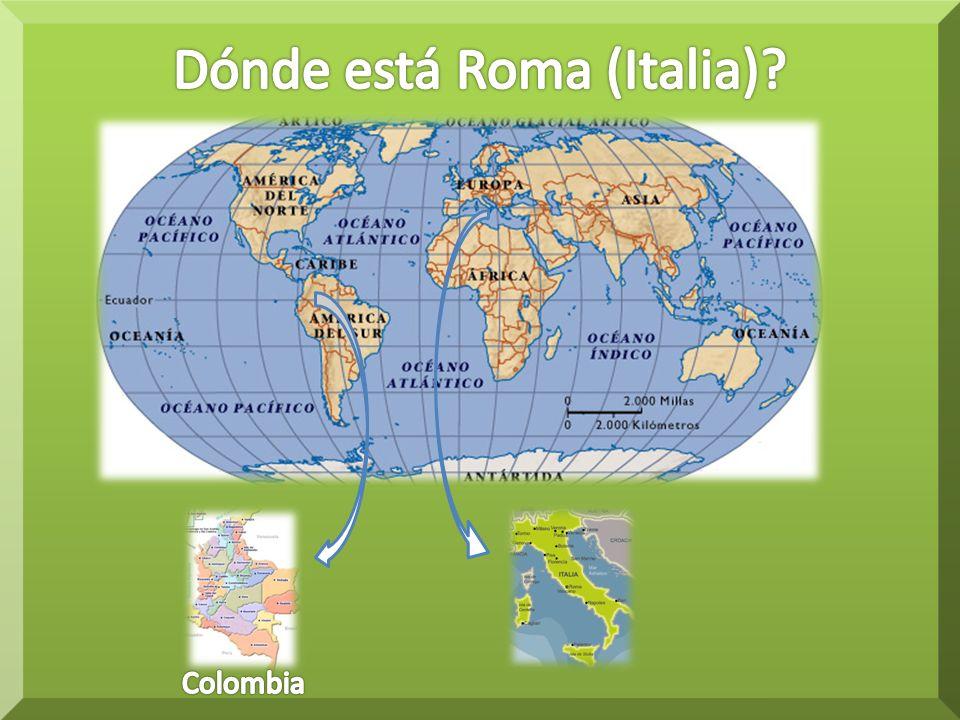 Dónde está Roma (Italia)