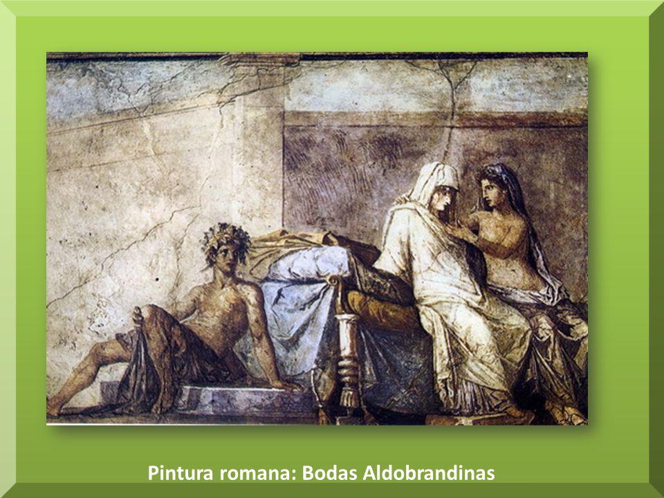 Pintura romana: Bodas Aldobrandinas