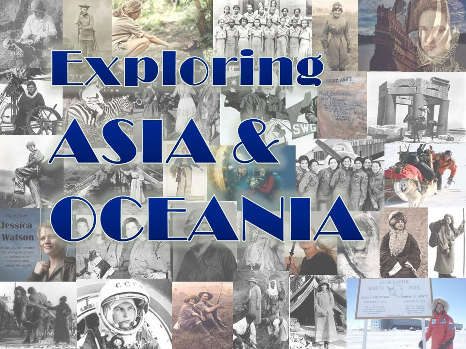 Exploring ASIA & OCEANIA