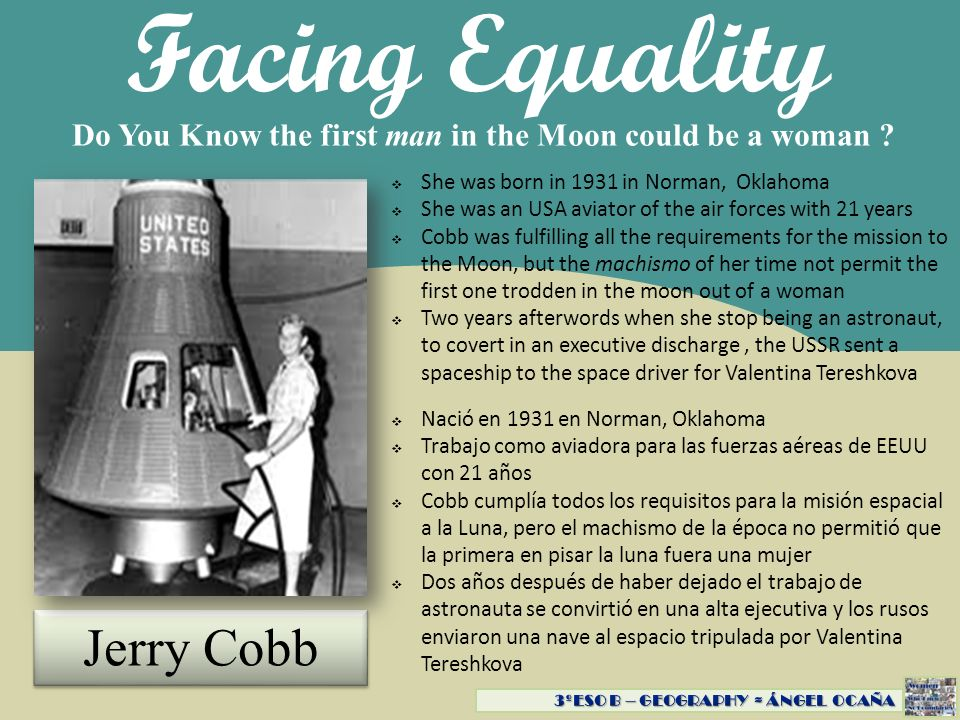 Facing Equality Jerry Cobb