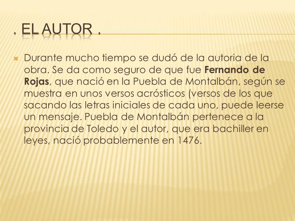 . El autor .