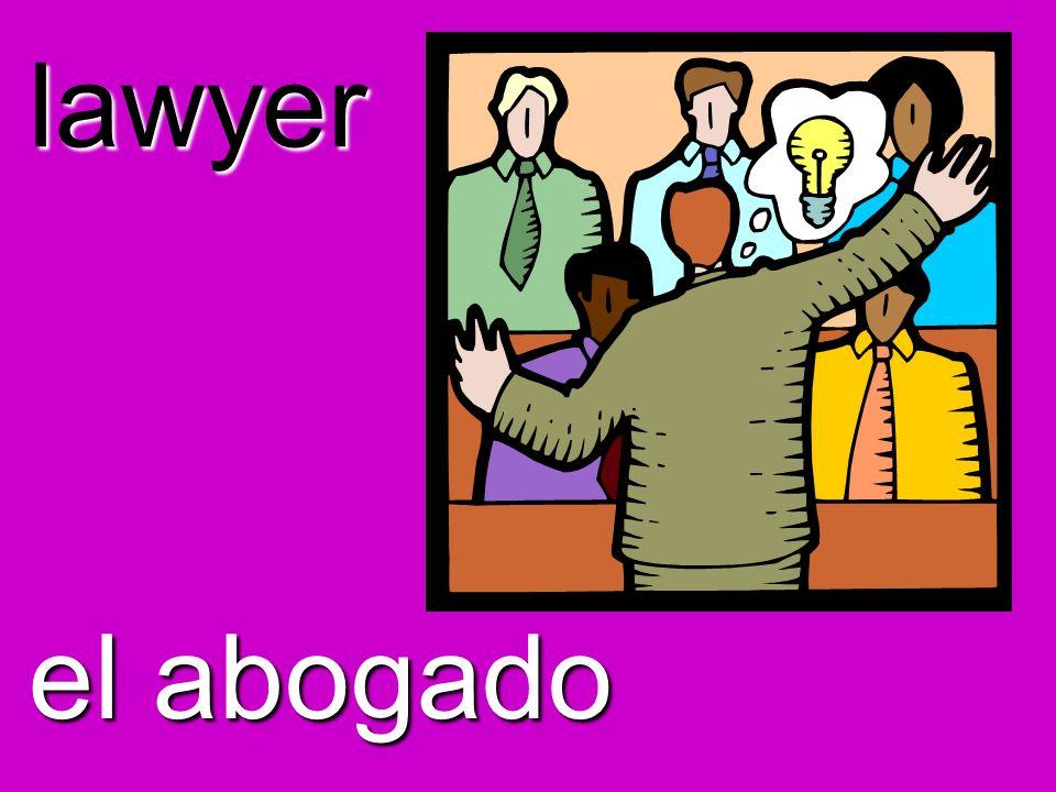lawyer el abogado
