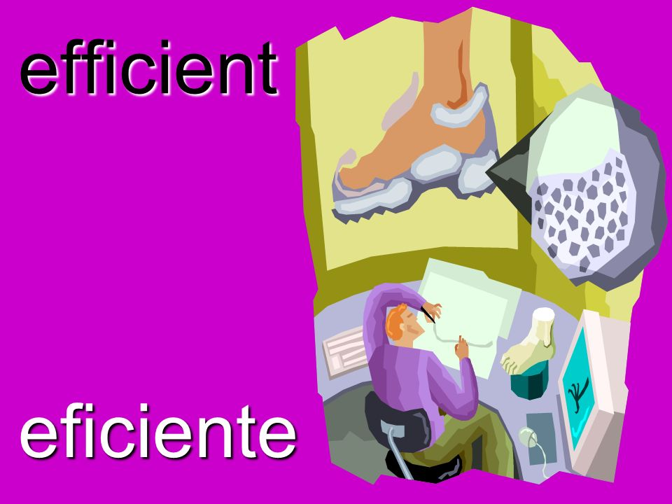 efficient eficiente