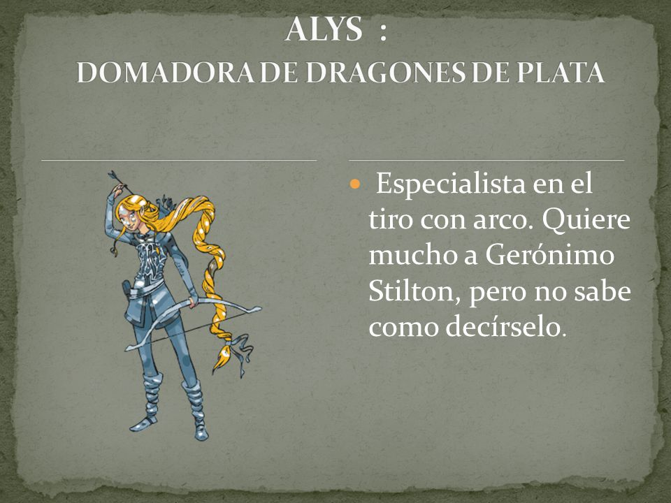 ALYS : DOMADORA DE DRAGONES DE PLATA