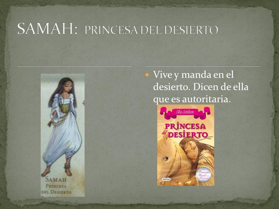 SAMAH: PRINCESA DEL DESIERTO