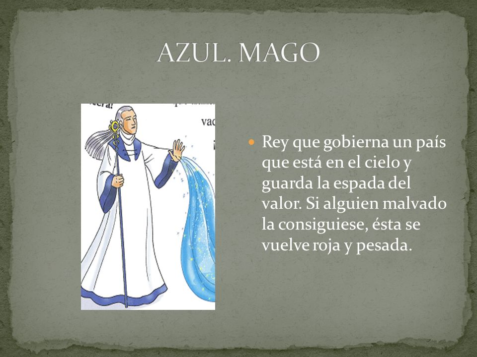 AZUL. MAGO