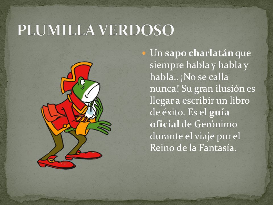 PLUMILLA VERDOSO