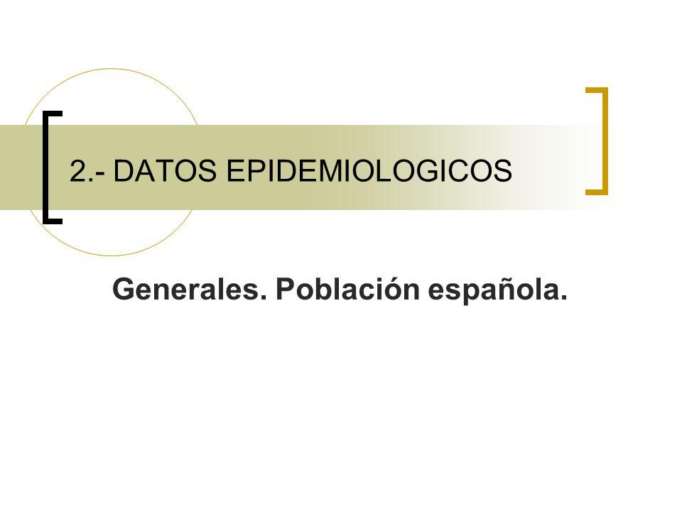 2.- DATOS EPIDEMIOLOGICOS