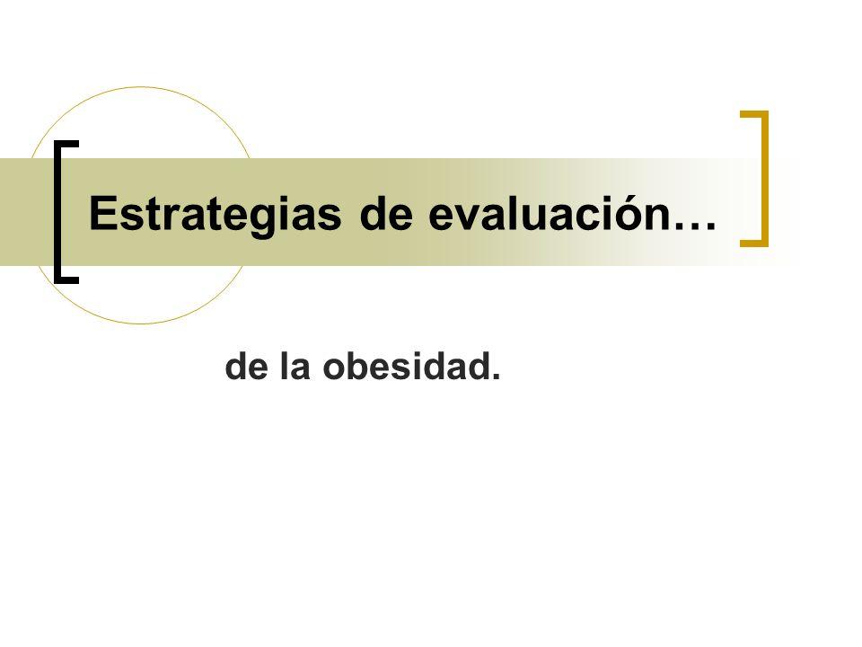 Estrategias de evaluación…