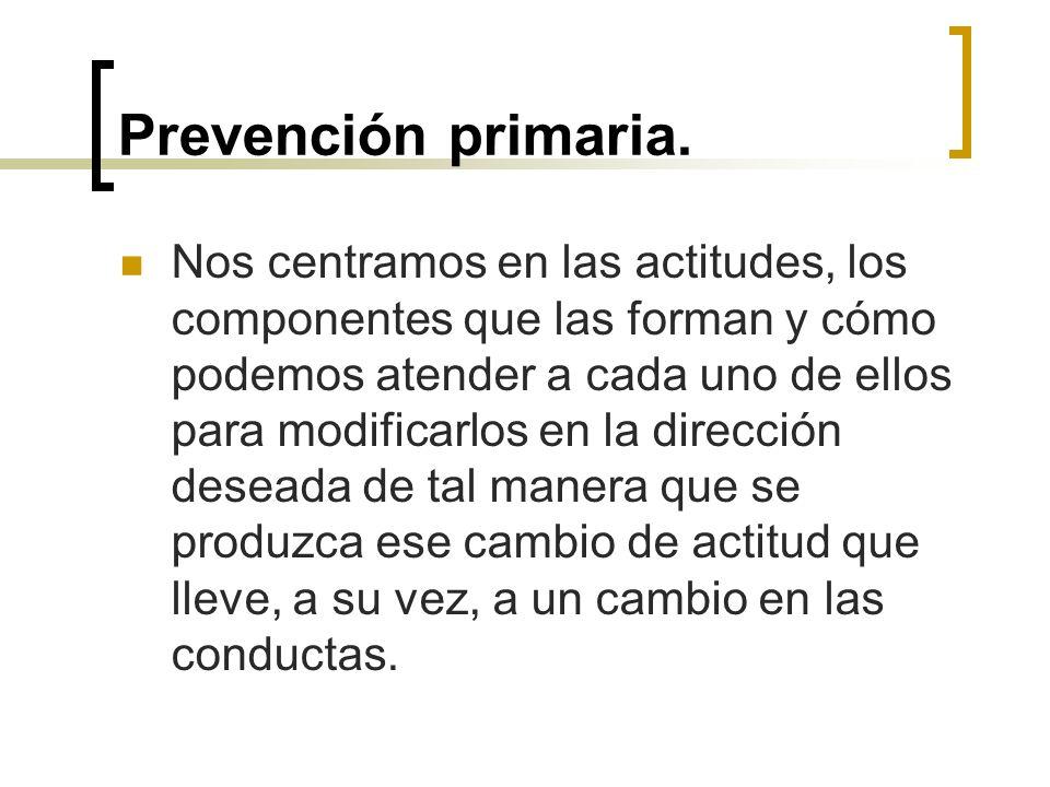Prevención primaria.