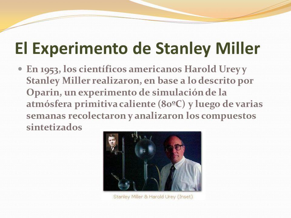 El Experimento de Stanley Miller