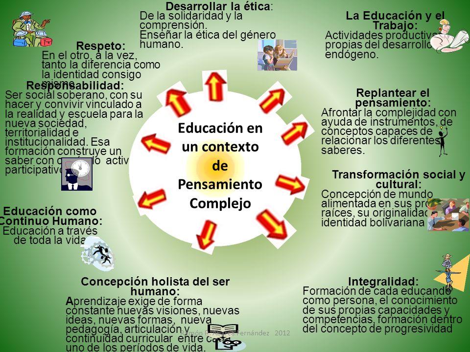 Educación en un contexto de Pensamiento Complejo