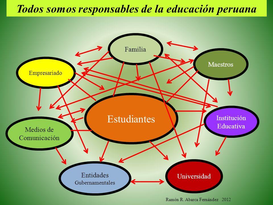 Todos somos responsables de la educación peruana