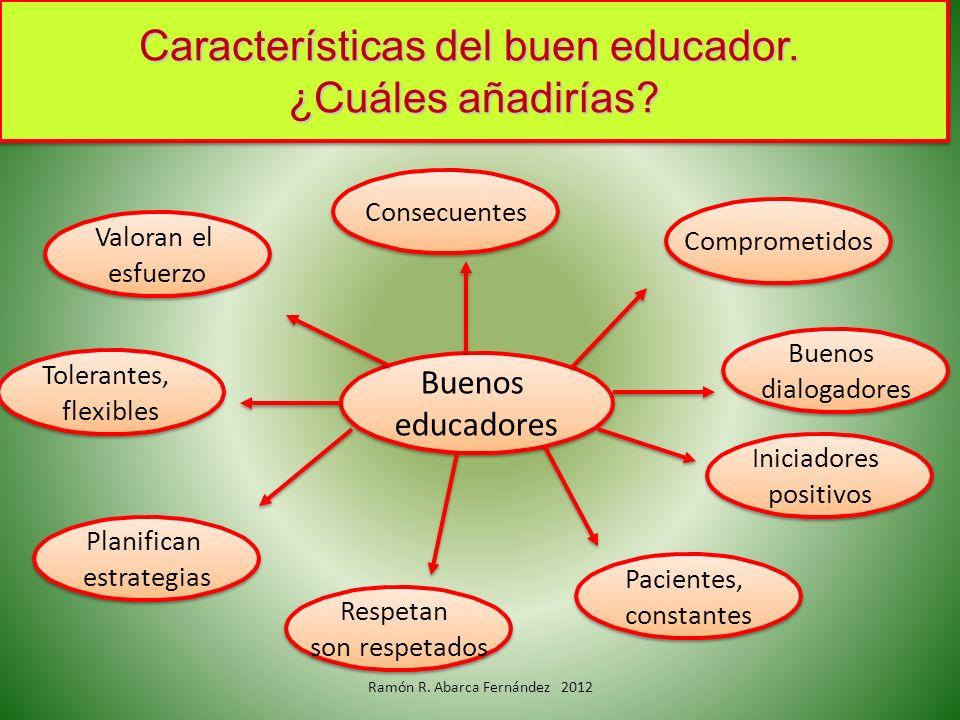 Características del buen educador. ¿Cuáles añadirías