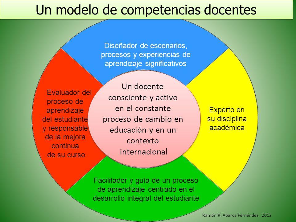 Un modelo de competencias docentes
