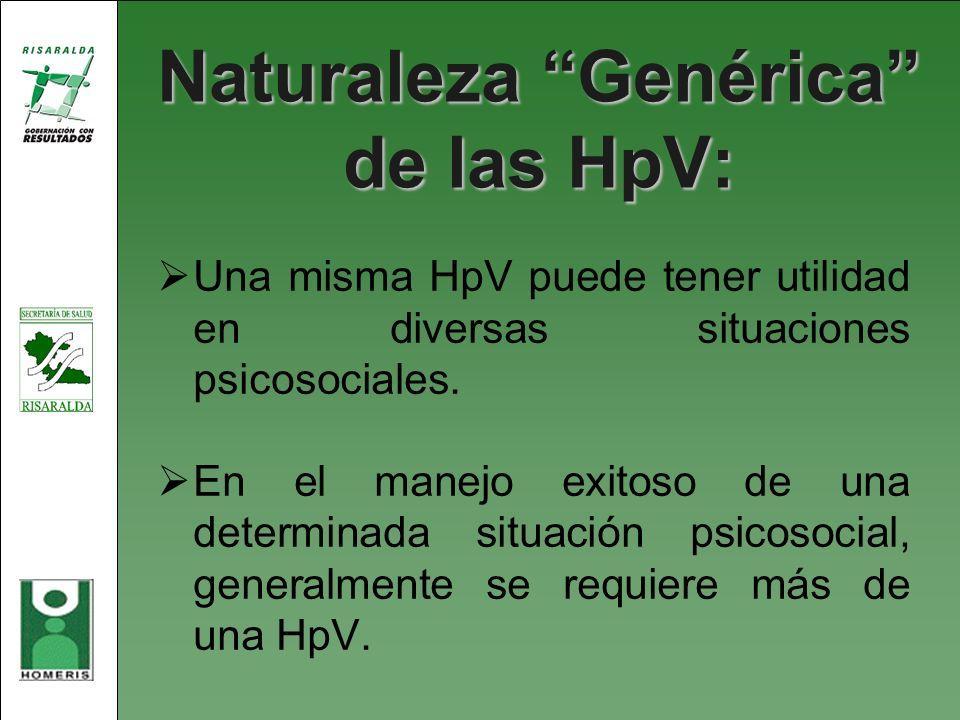 Naturaleza Genérica de las HpV: