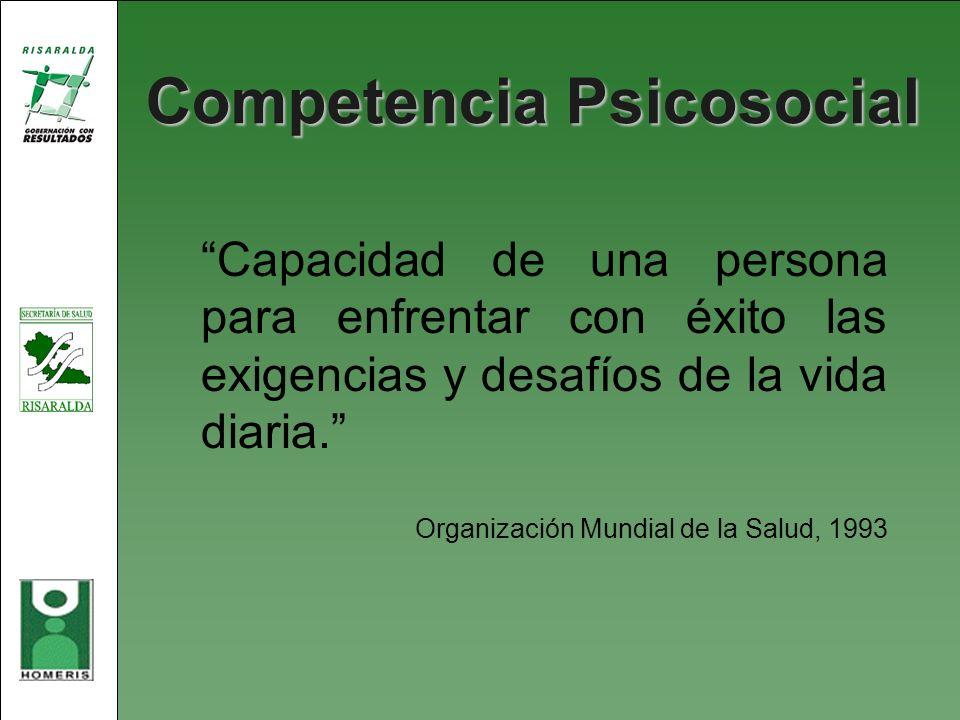 Competencia Psicosocial
