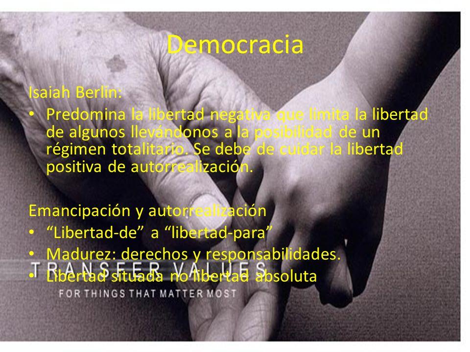 Democracia Isaiah Berlin:
