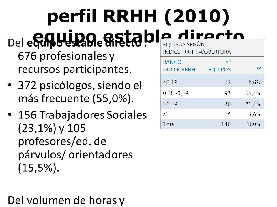 perfil RRHH (2010) equipo estable directo
