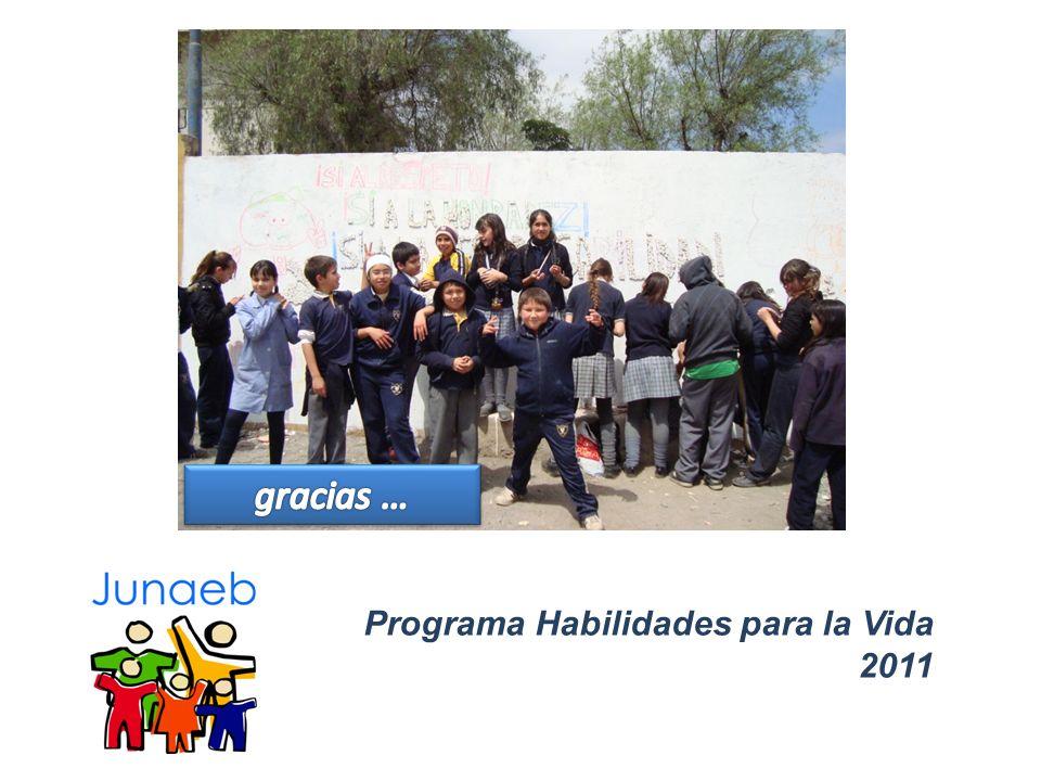 gracias … Programa Habilidades para la Vida 2011