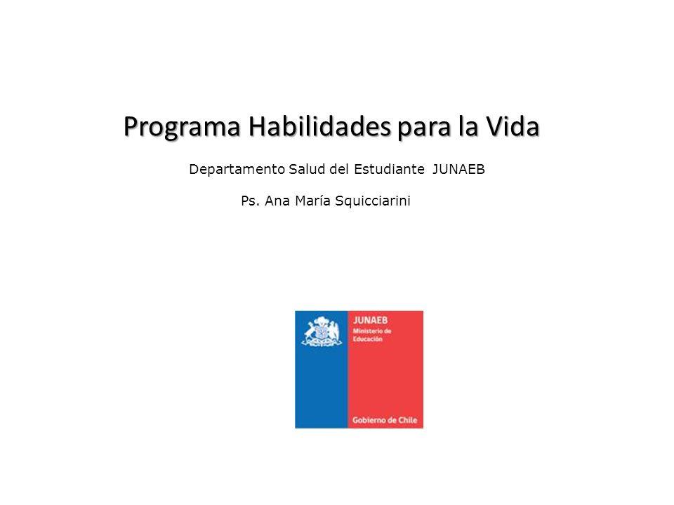 Departamento Salud del Estudiante JUNAEB