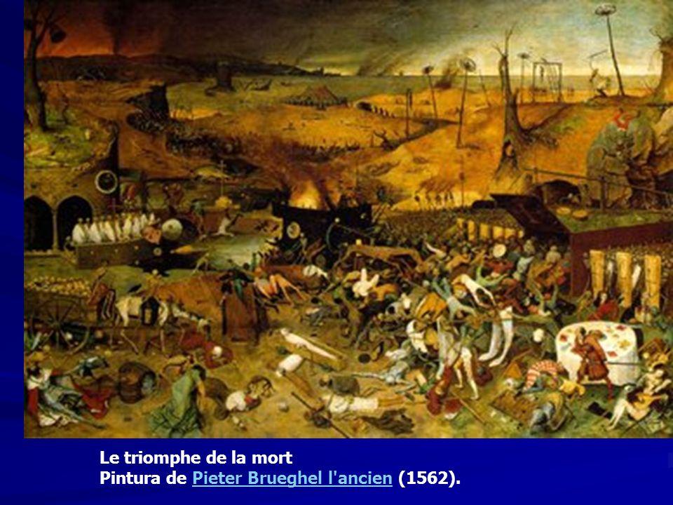 Le triomphe de la mort Pintura de Pieter Brueghel l ancien (1562).