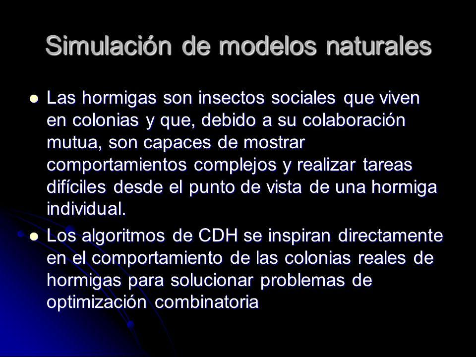 Simulación de modelos naturales