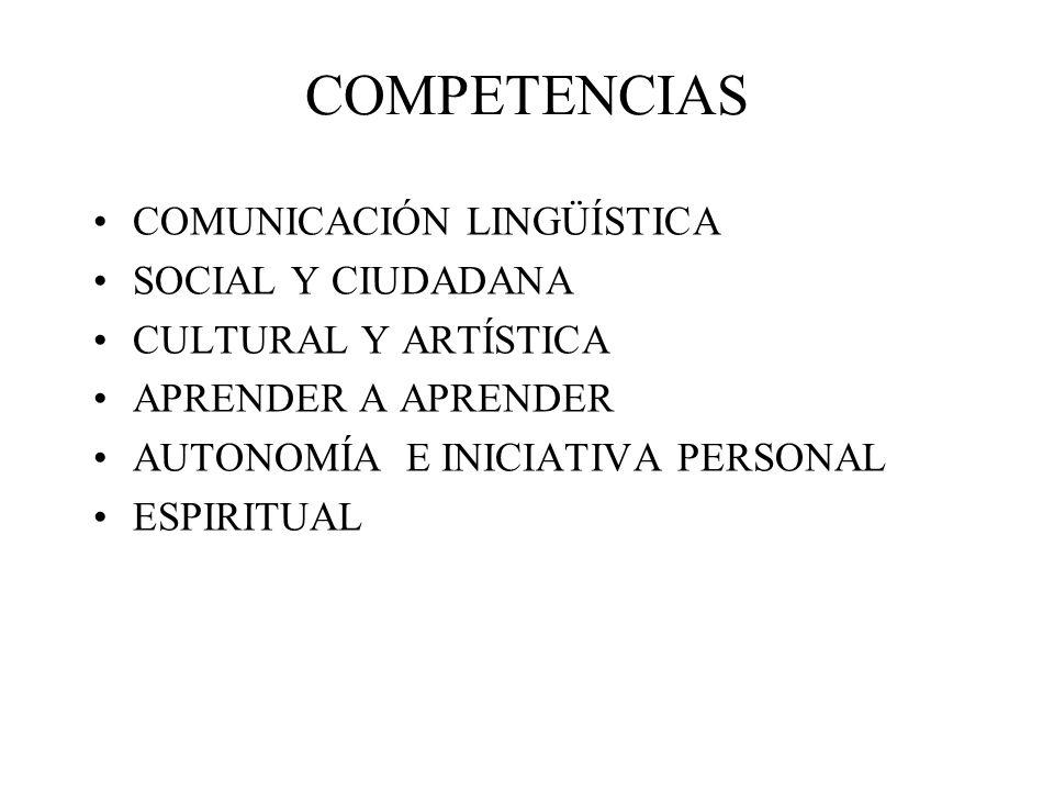 COMPETENCIAS COMUNICACIÓN LINGÜÍSTICA SOCIAL Y CIUDADANA