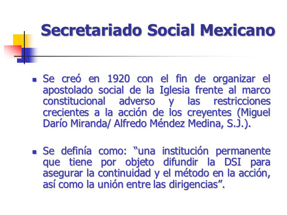 Secretariado Social Mexicano