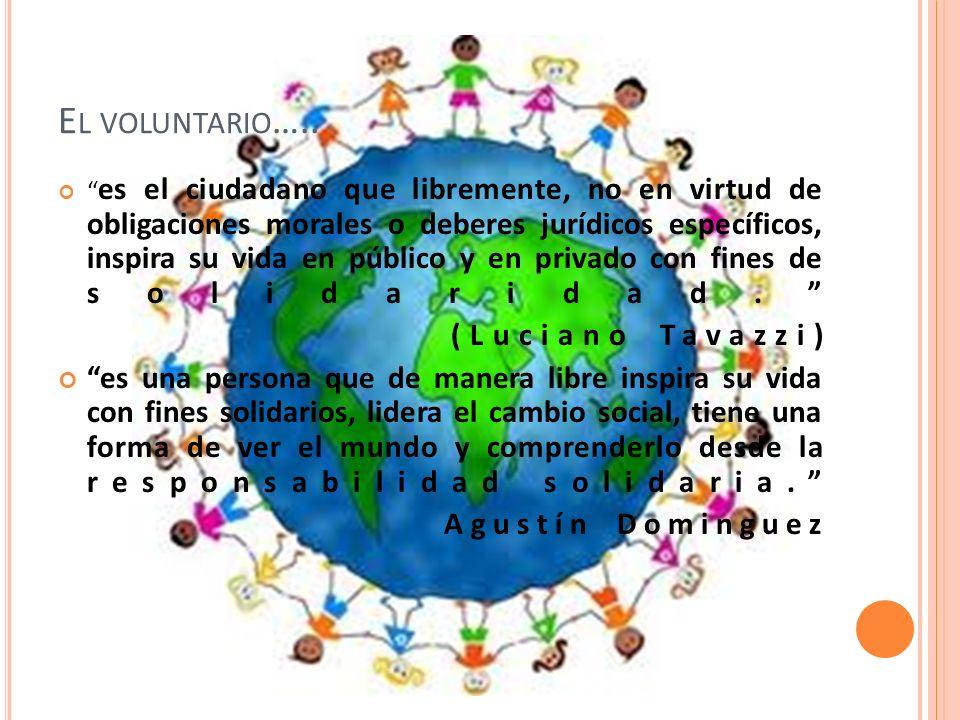 El voluntario….. (Luciano Tavazzi)