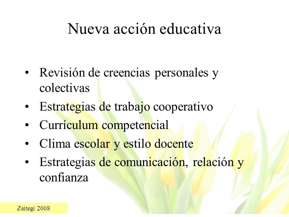 Nueva acción educativa