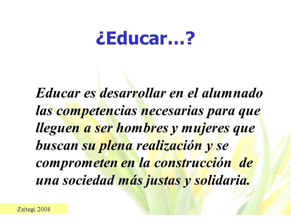 ¿Educar…