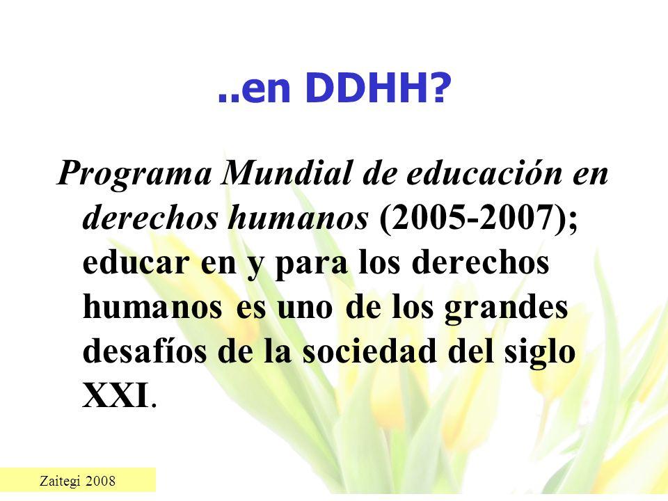 ..en DDHH
