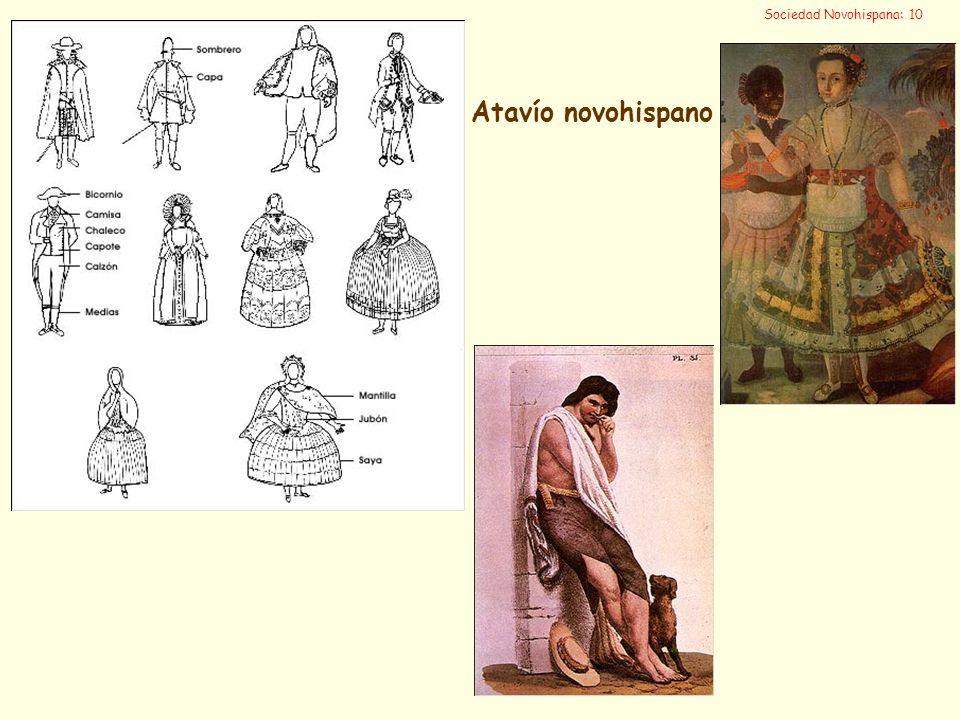 Sociedad Novohispana: 10