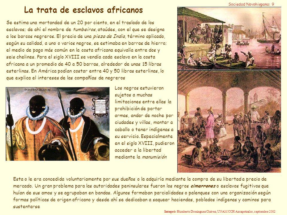 La trata de esclavos africanos