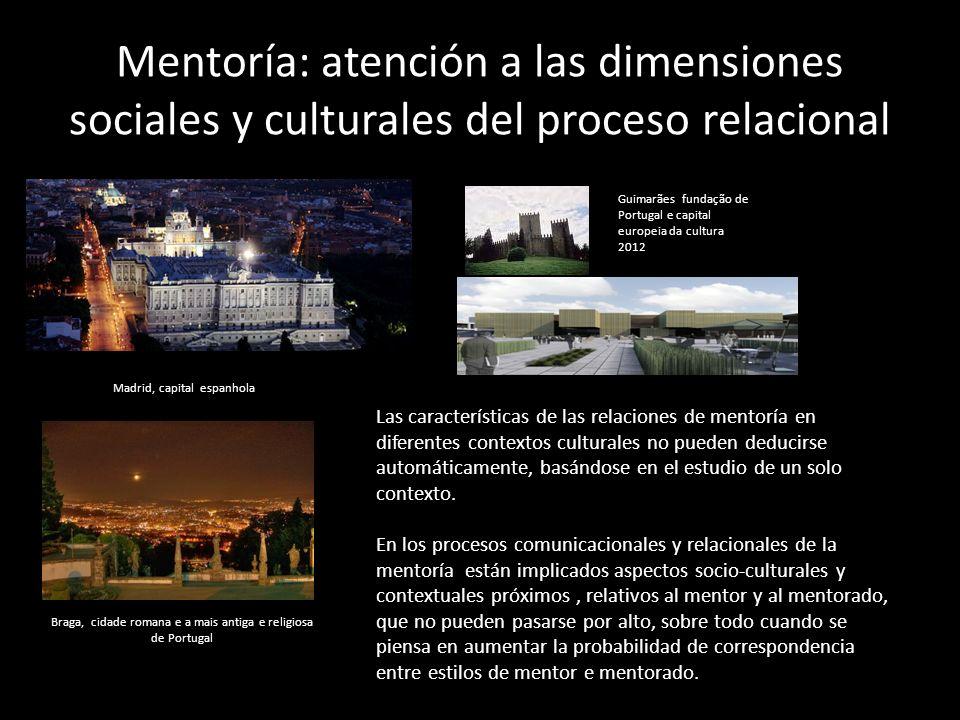 Mentoría: atención a las dimensiones sociales y culturales del proceso relacional