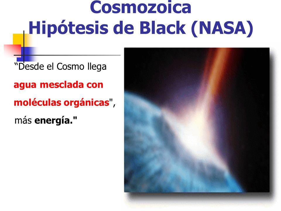 Cosmozoica Hipótesis de Black (NASA)