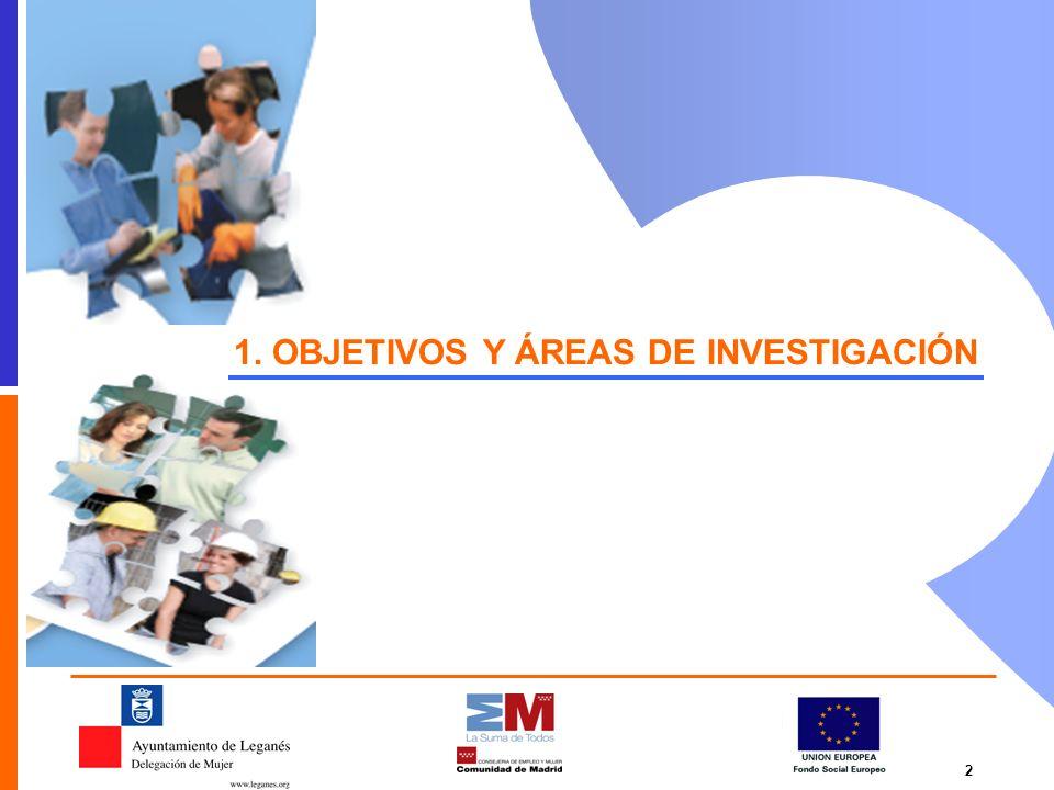 1. OBJETIVOS Y ÁREAS DE INVESTIGACIÓN