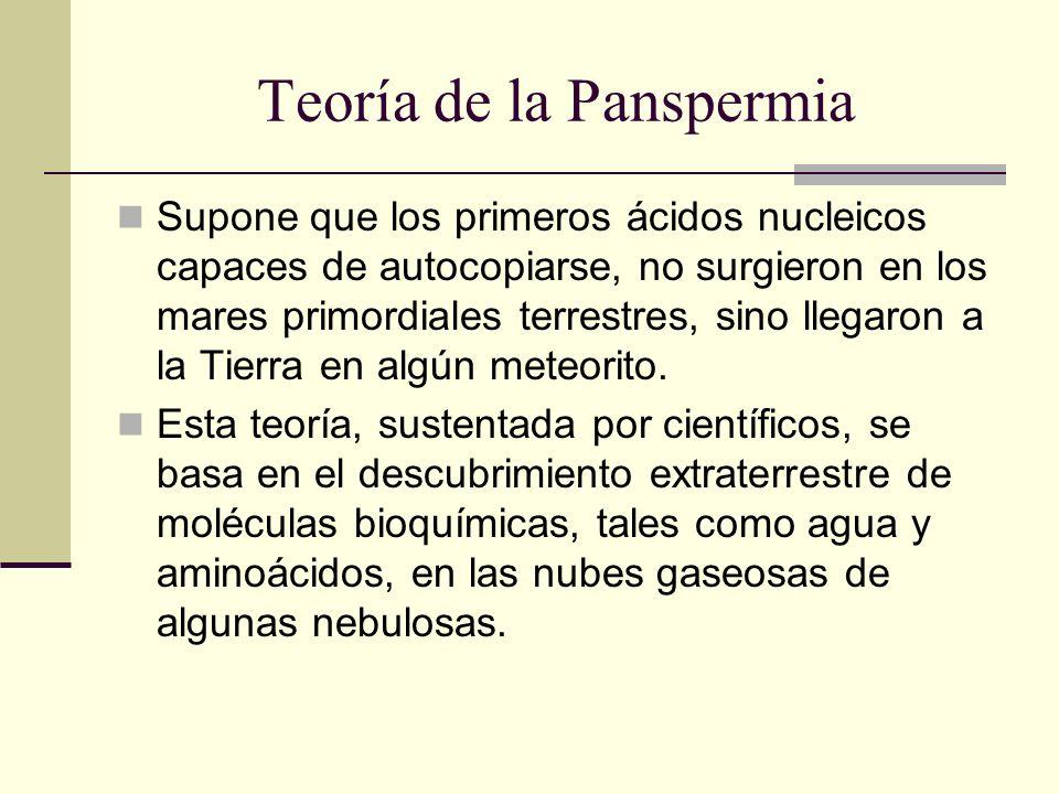 Teoría de la Panspermia
