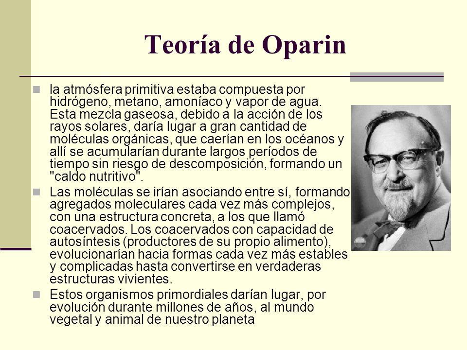 Teoría de Oparin