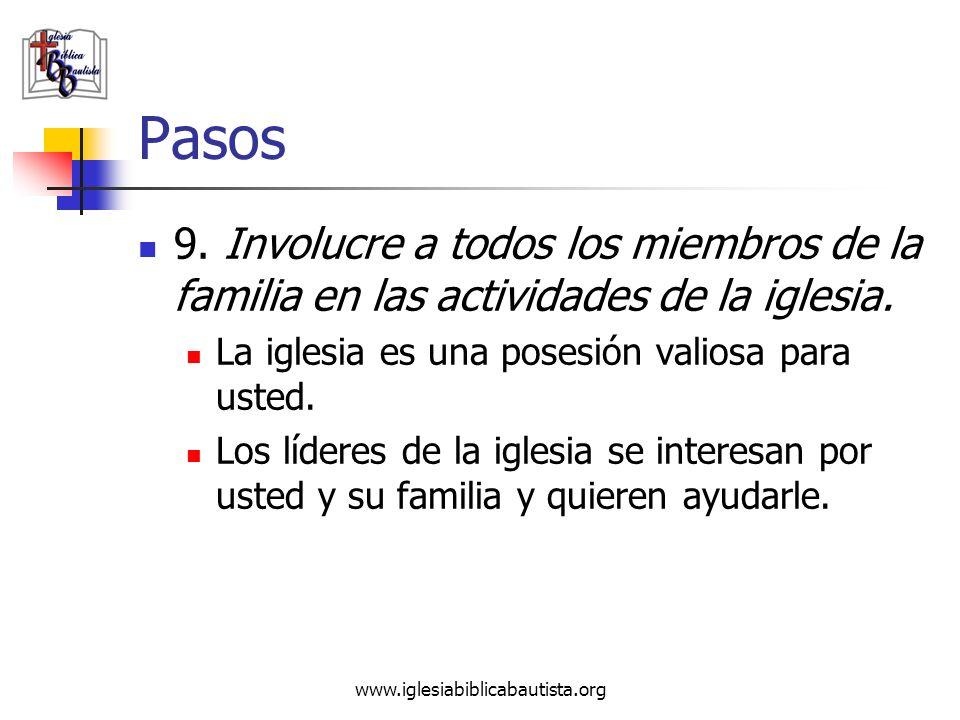 Pasos 9. Involucre a todos los miembros de la familia en las actividades de la iglesia. La iglesia es una posesión valiosa para usted.