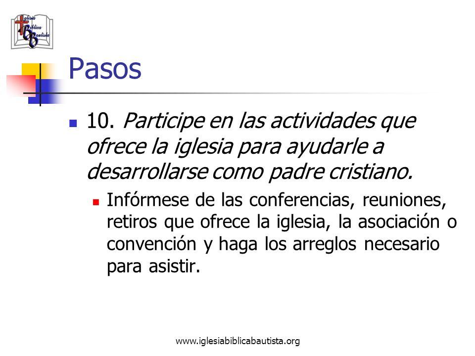 Pasos 10. Participe en las actividades que ofrece la iglesia para ayudarle a desarrollarse como padre cristiano.