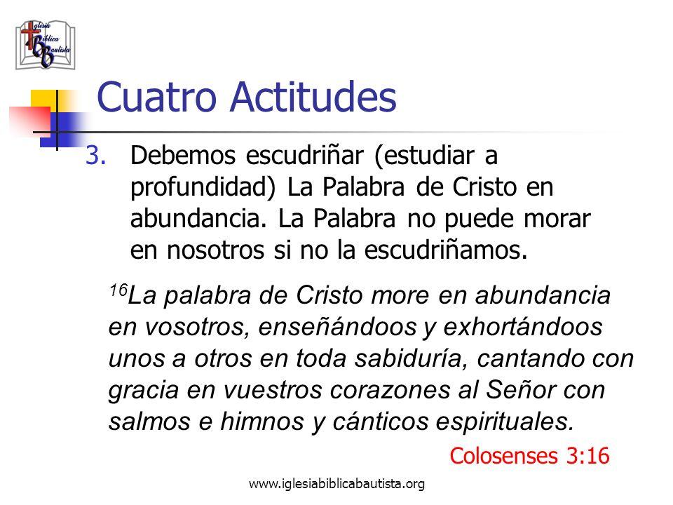 Cuatro Actitudes